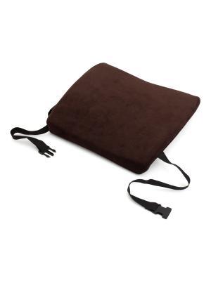 Подушка поясничная 35х33х8 см (коричневый) BEEFLEX. Цвет: коричневый
