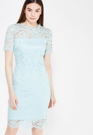 Платье Lusio. Цвет: голубой
