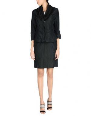 Классический костюм ROBERTA SCARPA. Цвет: черный