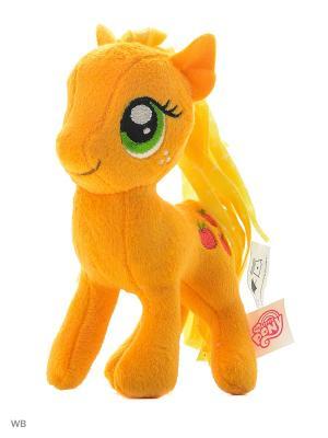 Маленькие плюшевые пони My Little Pony. Цвет: оранжевый