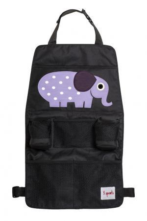 Органайзер для автомобиля «Фиолетовый слоник» 3 Sprouts. Цвет: multicolor