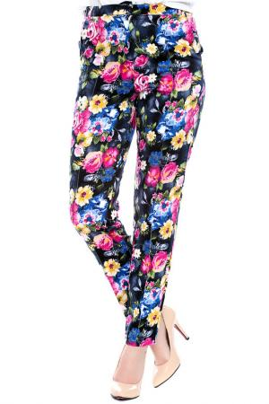 Trousers Emma Monti. Цвет: floral print