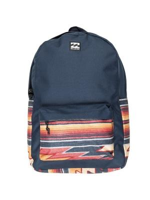 Рюкзак ALL DAY PACK BILLABONG. Цвет: темно-синий, белый, оранжевый