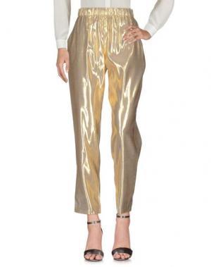 Повседневные брюки DES PETITS HAUTS. Цвет: золотистый