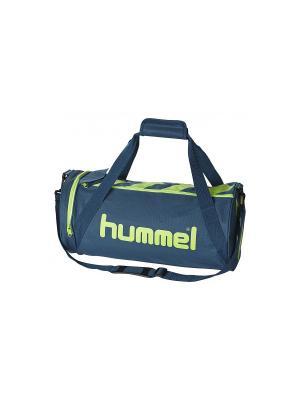 Сумкa STAY AUTHENTIC SPORT BAG-M HUMMEL. Цвет: бирюзовый