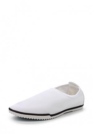 Слипоны Sweet Shoes. Цвет: белый