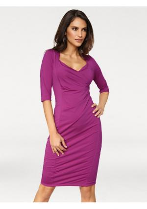Платье Ashley Brooke. Цвет: ягодный