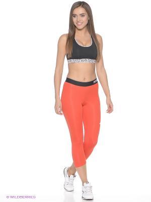 Бриджи NP CL CAPRI Nike. Цвет: красный