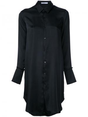 Длинная рубашка Astraet. Цвет: чёрный
