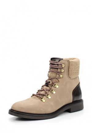 Ботинки Gant. Цвет: бежевый