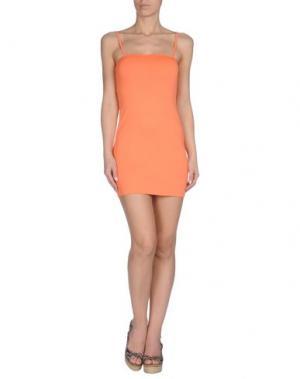Пляжное платье AGOGOA. Цвет: оранжевый