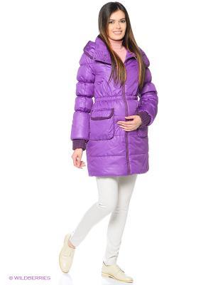 Куртка Mum`s Era. Цвет: фиолетовый