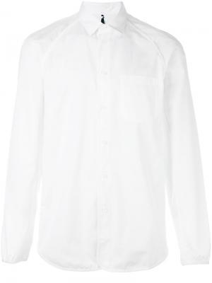 Классическая рубашка Oamc. Цвет: белый