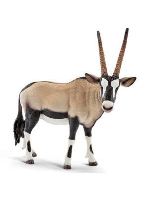 Серия Дикие животные - Антилопа SCHLEICH. Цвет: бежевый, белый, коричневый
