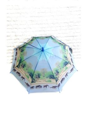 Зонт NeKi. Цвет: черный, зеленый, светло-зеленый