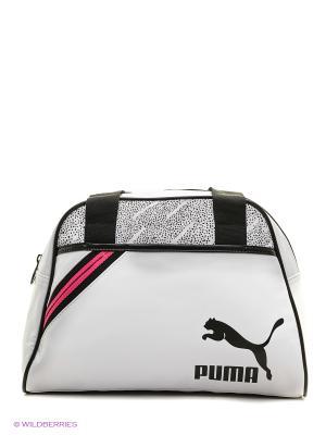 Сумка Archive Handbag P Puma. Цвет: белый