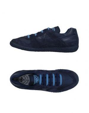 Низкие кеды и кроссовки MUNICH. Цвет: темно-синий