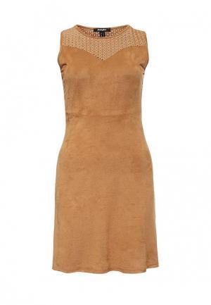 Платье Jennyfer. Цвет: коричневый