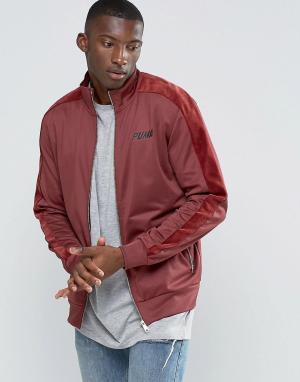 Puma Спортивная куртка. Цвет: красный