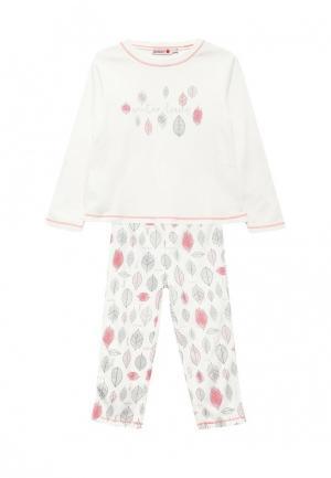 Пижама Boboli. Цвет: белый