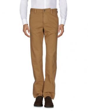 Повседневные брюки MURPHY & NYE. Цвет: верблюжий