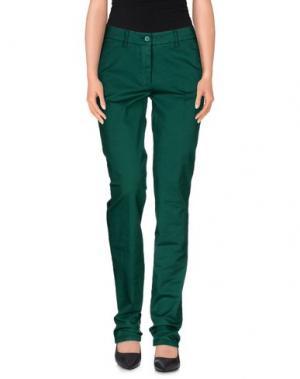 Повседневные брюки ALTEA dal 1973. Цвет: изумрудно-зеленый