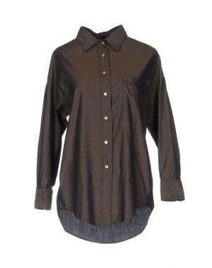 Pубашка GUYA G.. Цвет: темно-коричневый