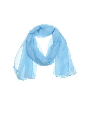 Палантин Migura. Цвет: голубой
