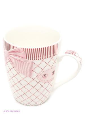 Кружка Bekker. Цвет: розовый