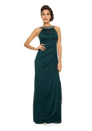 Вечернее платье ASHLEY BROOKE by Heine. Цвет: изумрудный, черный