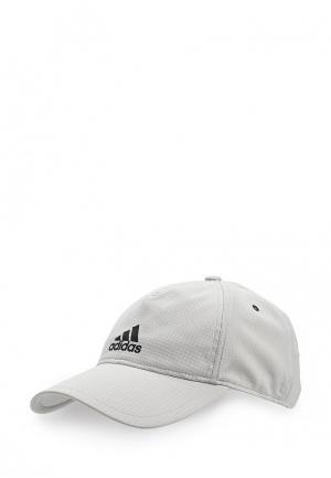 Бейсболка adidas. Цвет: серый