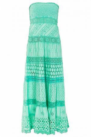 Платье TEMPTATION. Цвет: зеленый