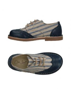 Обувь на шнурках OCA-LOCA. Цвет: темно-синий