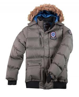 Куртка XLAND AFM. Цвет: серыи