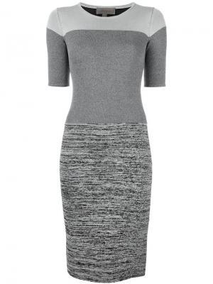 Платье Genoa Tony Cohen. Цвет: серый