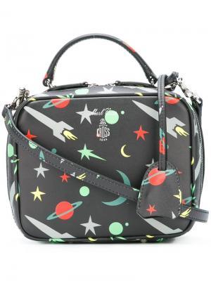 Мини сумка через плечо Laura Mark Cross. Цвет: чёрный