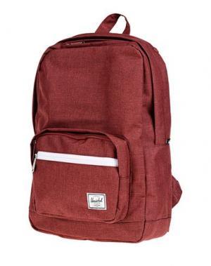 Рюкзаки и сумки на пояс HERSCHEL SUPPLY CO.. Цвет: красно-коричневый