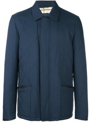 Стеганая куртка Loro Piana. Цвет: синий