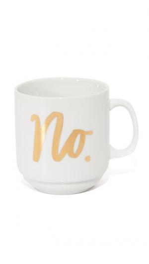 Кружка Snob для кофе Gift Boutique. Цвет: белый/золотистый