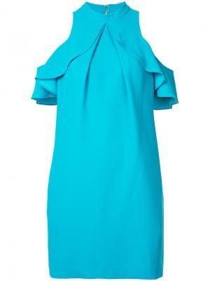 Платье с узором пейсли Trina Turk. Цвет: синий