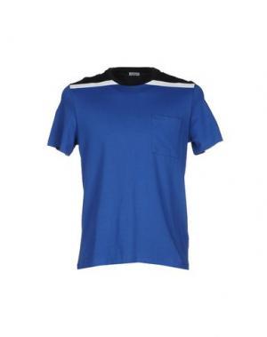 Футболка DANWARD. Цвет: синий