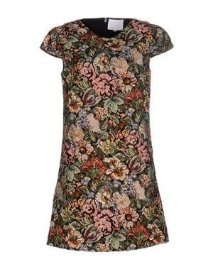 Короткое платье PRINCESSE METROPOLITAINE. Цвет: зеленый