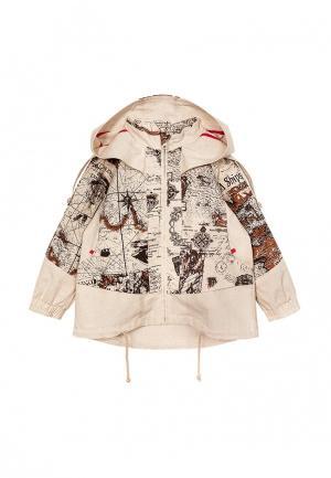 Куртка AnyKids. Цвет: бежевый