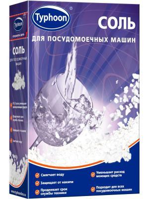 Тайфун соль для посудомоечных машин,1 кг.. Цвет: темно-фиолетовый