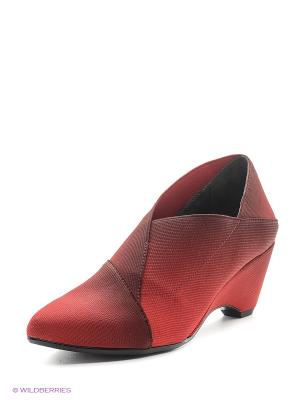 Туфли UNITED NUDE. Цвет: красный