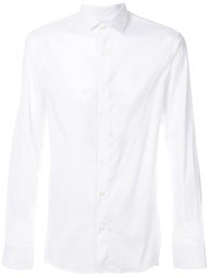 Классическая рубашка Philipp Plein. Цвет: белый
