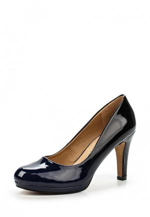 Туфли Mariamare. Цвет: синий