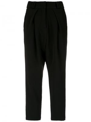 Tapered trousers Olympiah. Цвет: чёрный