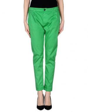 Повседневные брюки MACCHIA J. Цвет: зеленый