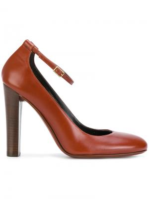 Classic buckled pumps Michel Vivien. Цвет: коричневый